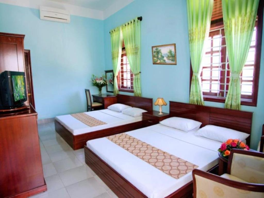 Phòng Deluxe 2 giường Tuyết Mai
