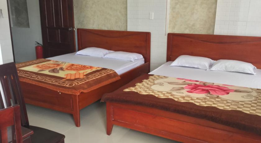 phòng 2 giường của Thien an guesthouse