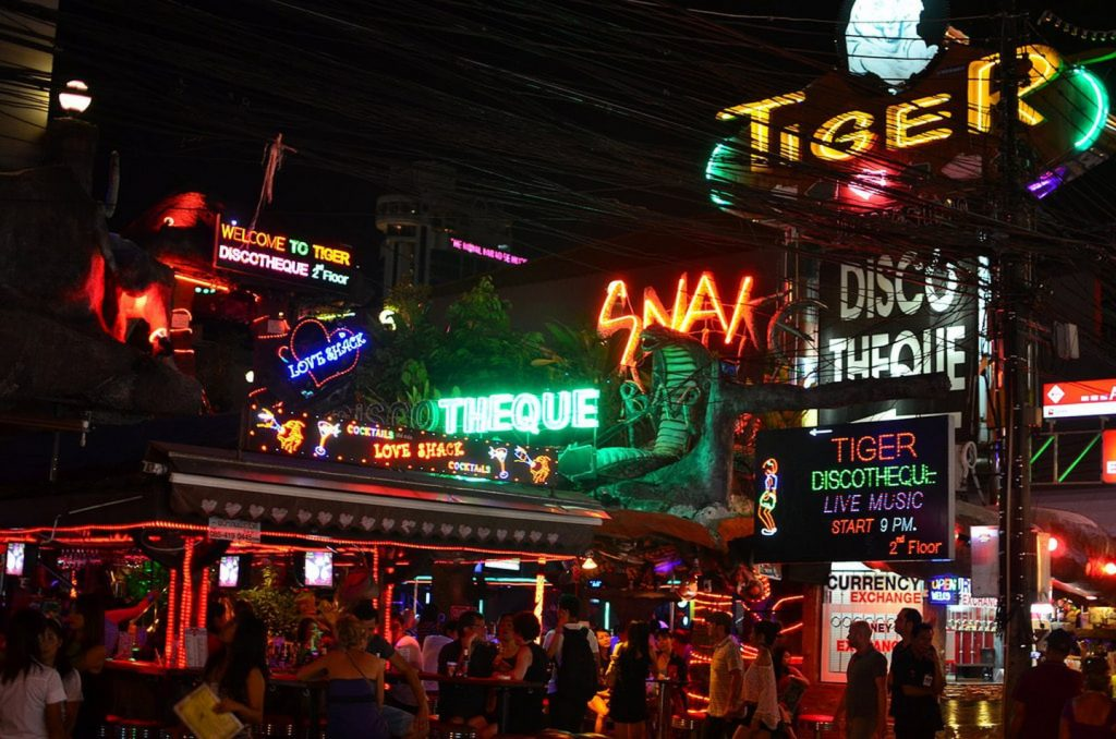 Bangla Road PhuKhet Thai Lan